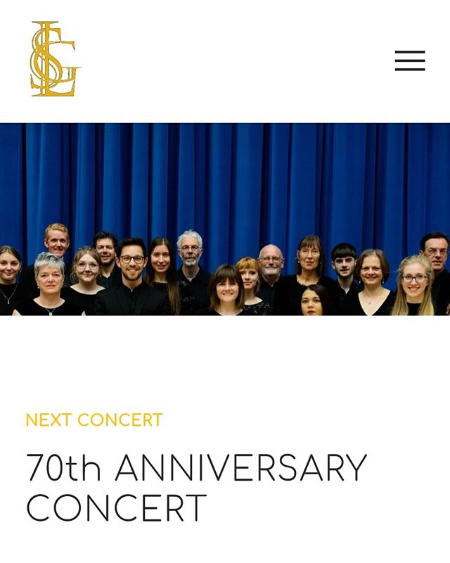 We are delighted and proud to announce that we have a new, redesigned website! Link in bio - do have a look, we hope you like it! :) . . #newwebsite #lgs70 #leedsguild #leedsguildofsingers #squarespace #leeds #voicesyorkshire #leedschoir
