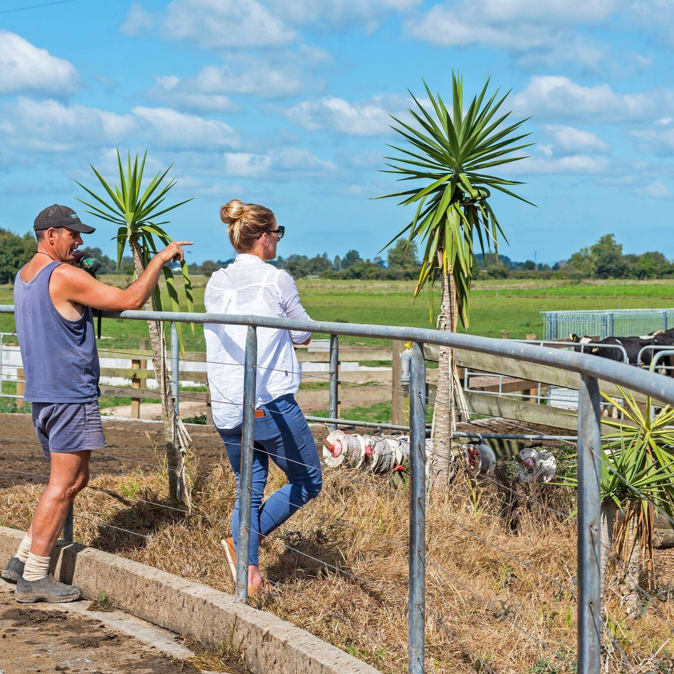 Amanda Looks At Farm Infrastructure