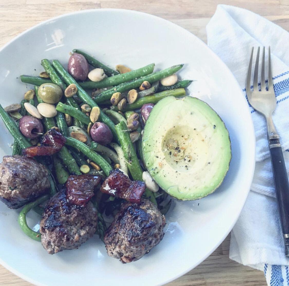 Angi Fletcher | Recipes: Buffalo Meatballs