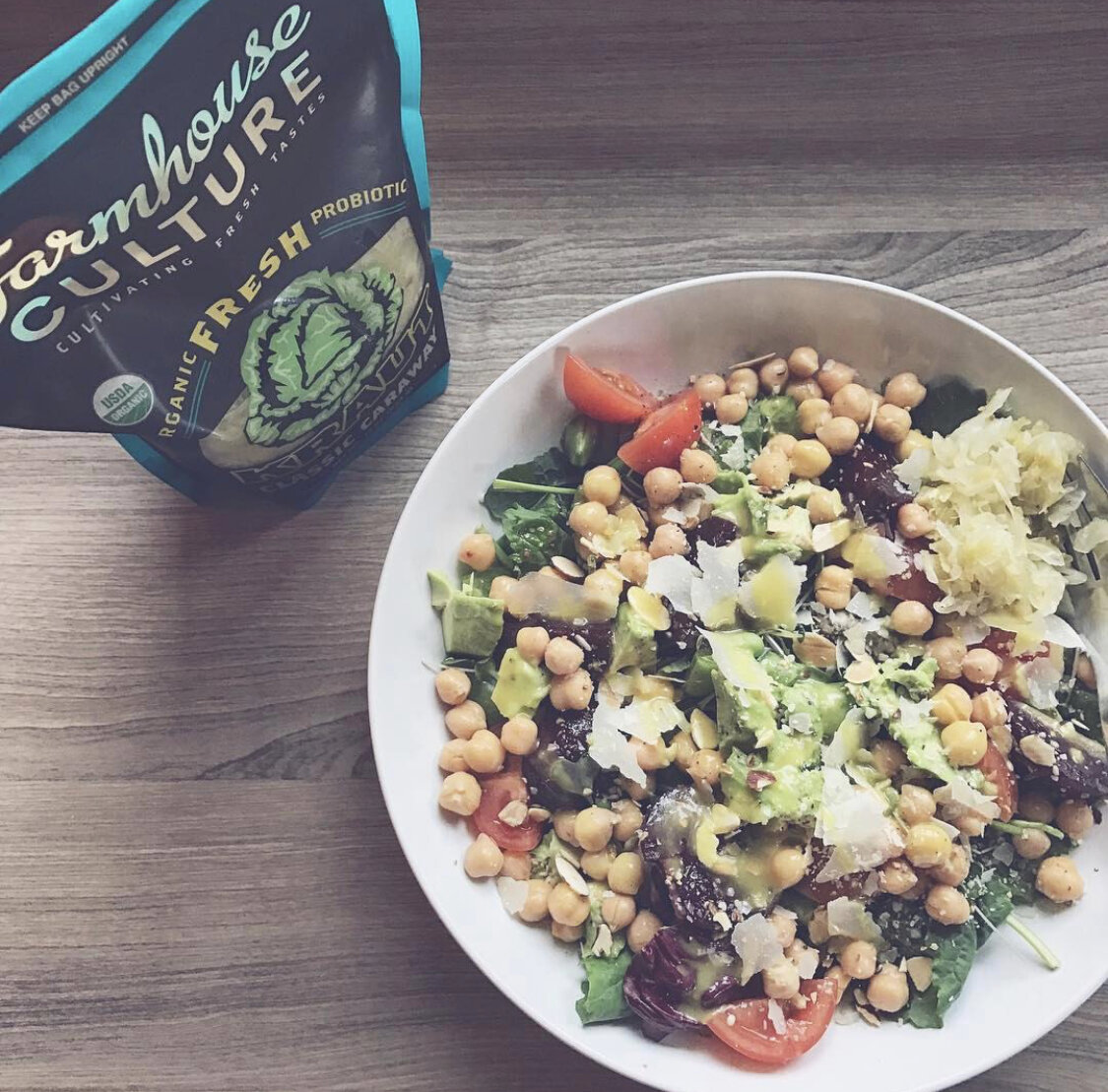 Angi Fletcher | Recipes: Kale & Chickpea Salad Bowl
