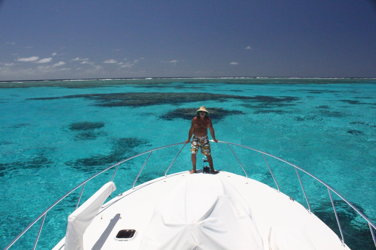 NAVIGATING THE GREAT BARRIER REEF -