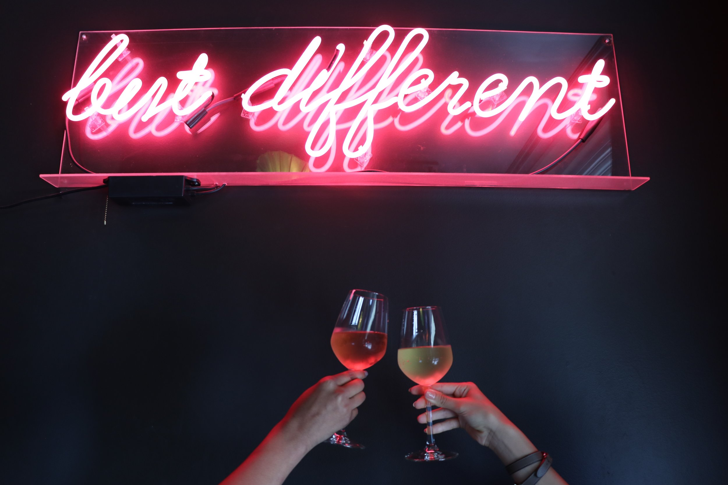 Same Same but different and wine
