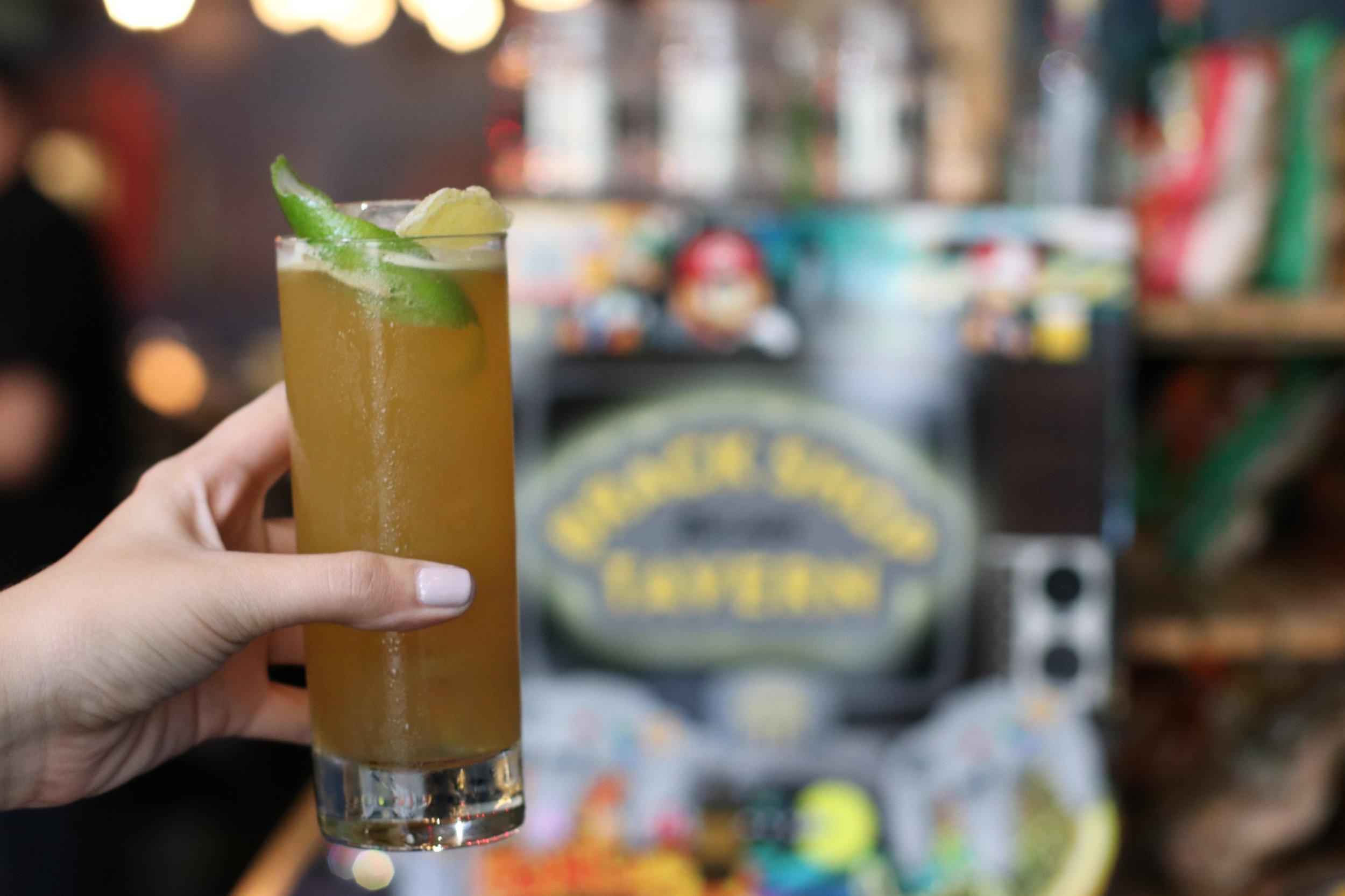 Cocktail at Brack Shop Tavern