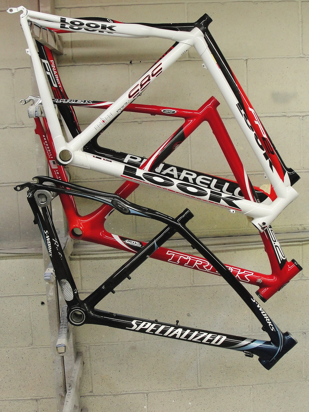 Carbon Bike Repair - Fractured, cracked, broken, or busted, we can fix just about any carbon frame.