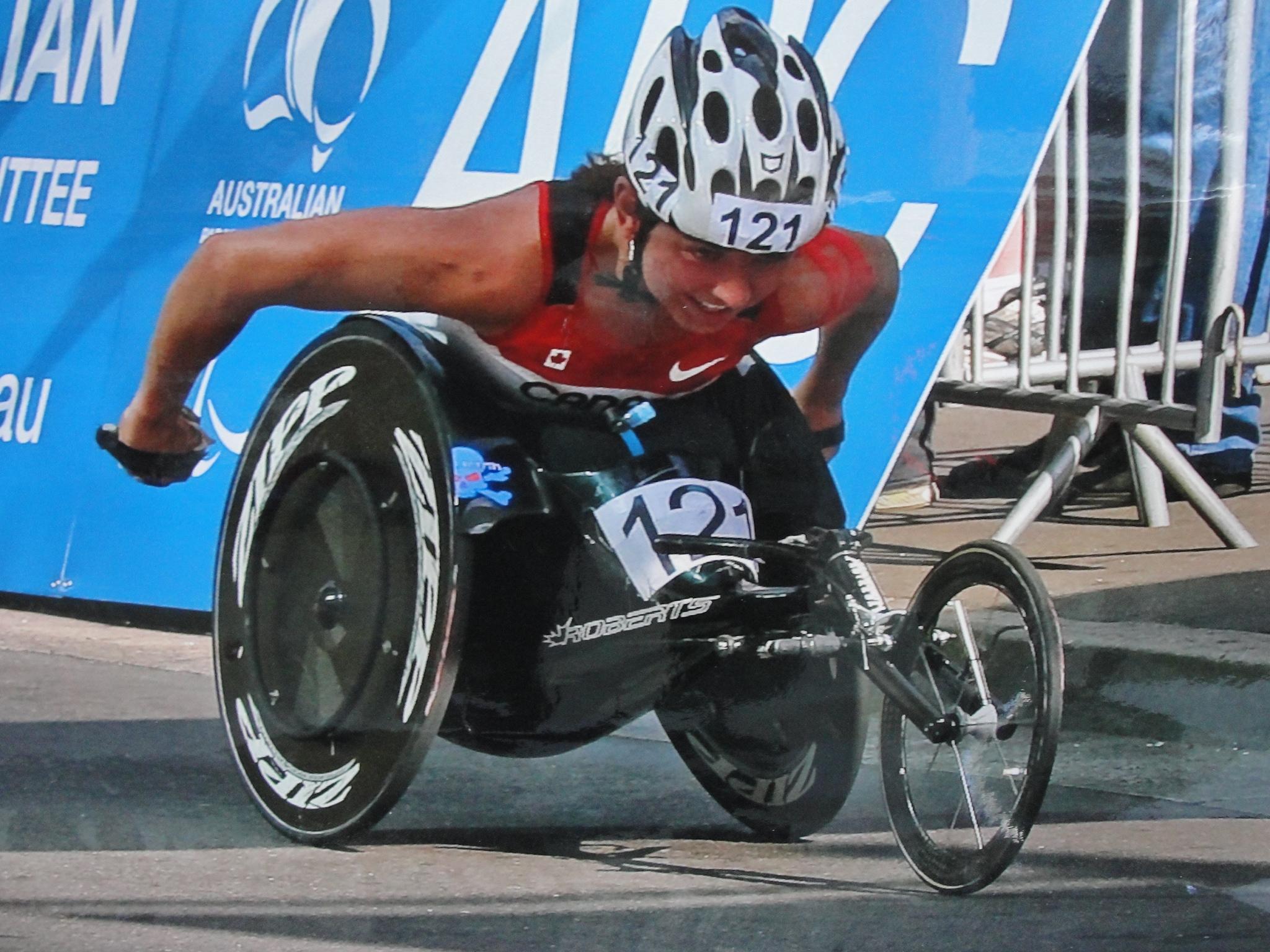 Michelle Stilwell Wheelchair Racing