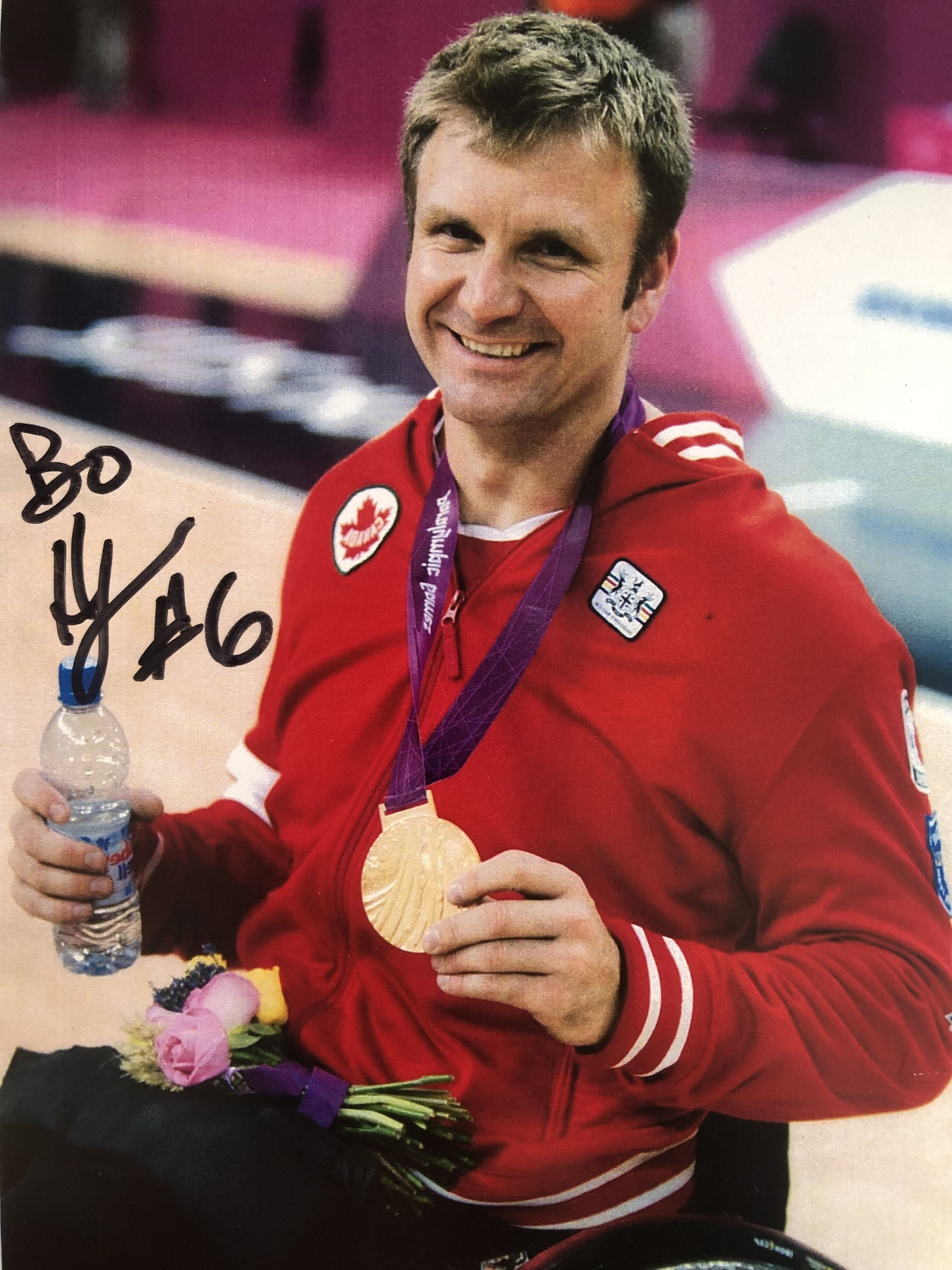 Bo Hedges Gold Medal, London 2012 Paralympics