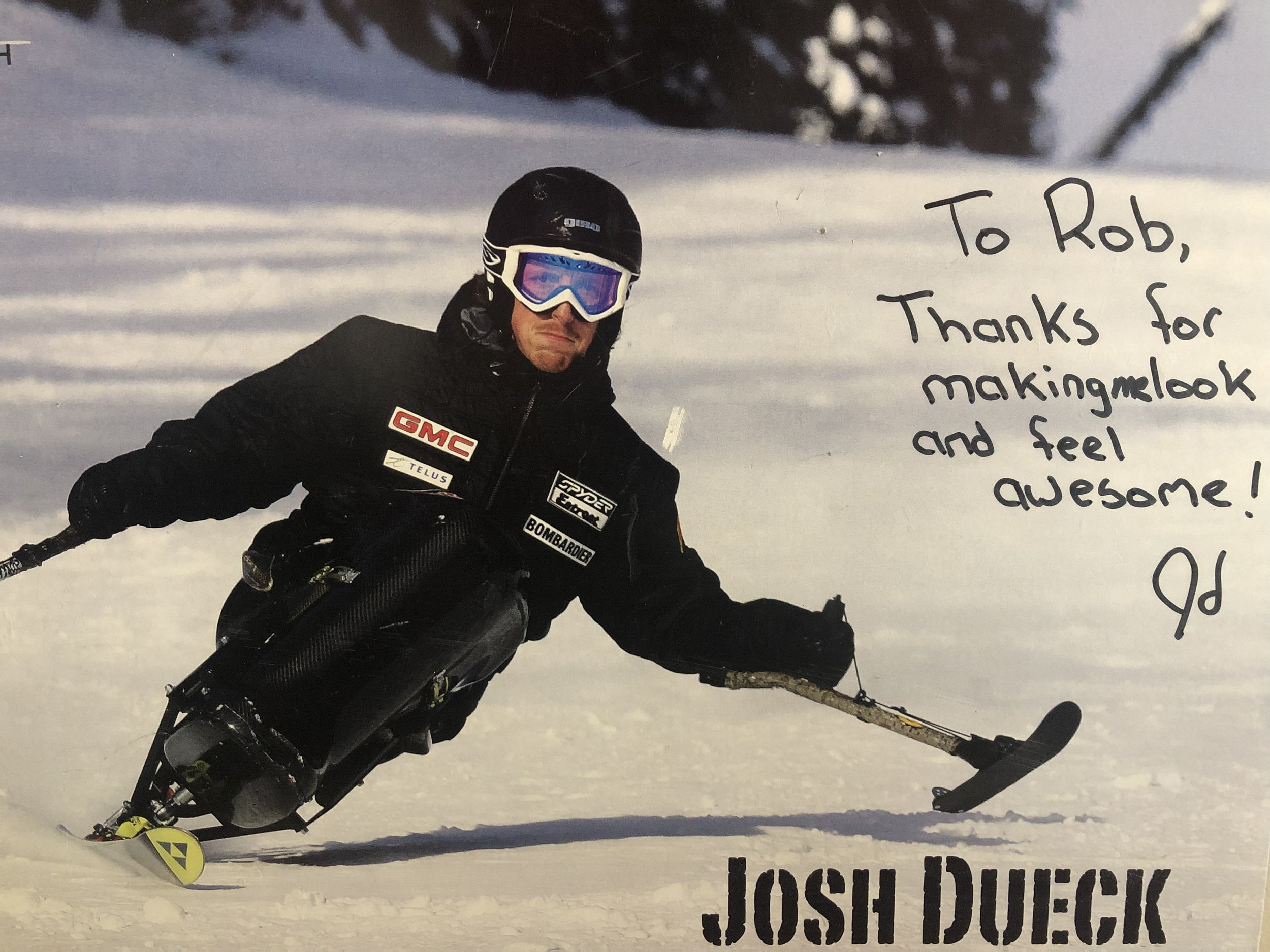 Josh Dueck Thanks