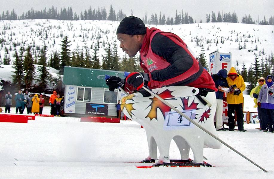 Para-Nordic Sit Skier Lou Gibson