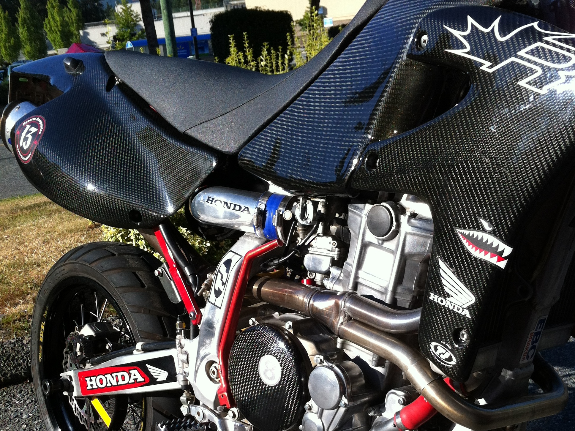 Automotive - Motorcycle fairings, bodywork, hoods, spoilers, dashboards, interiors, etc. We've made it all.