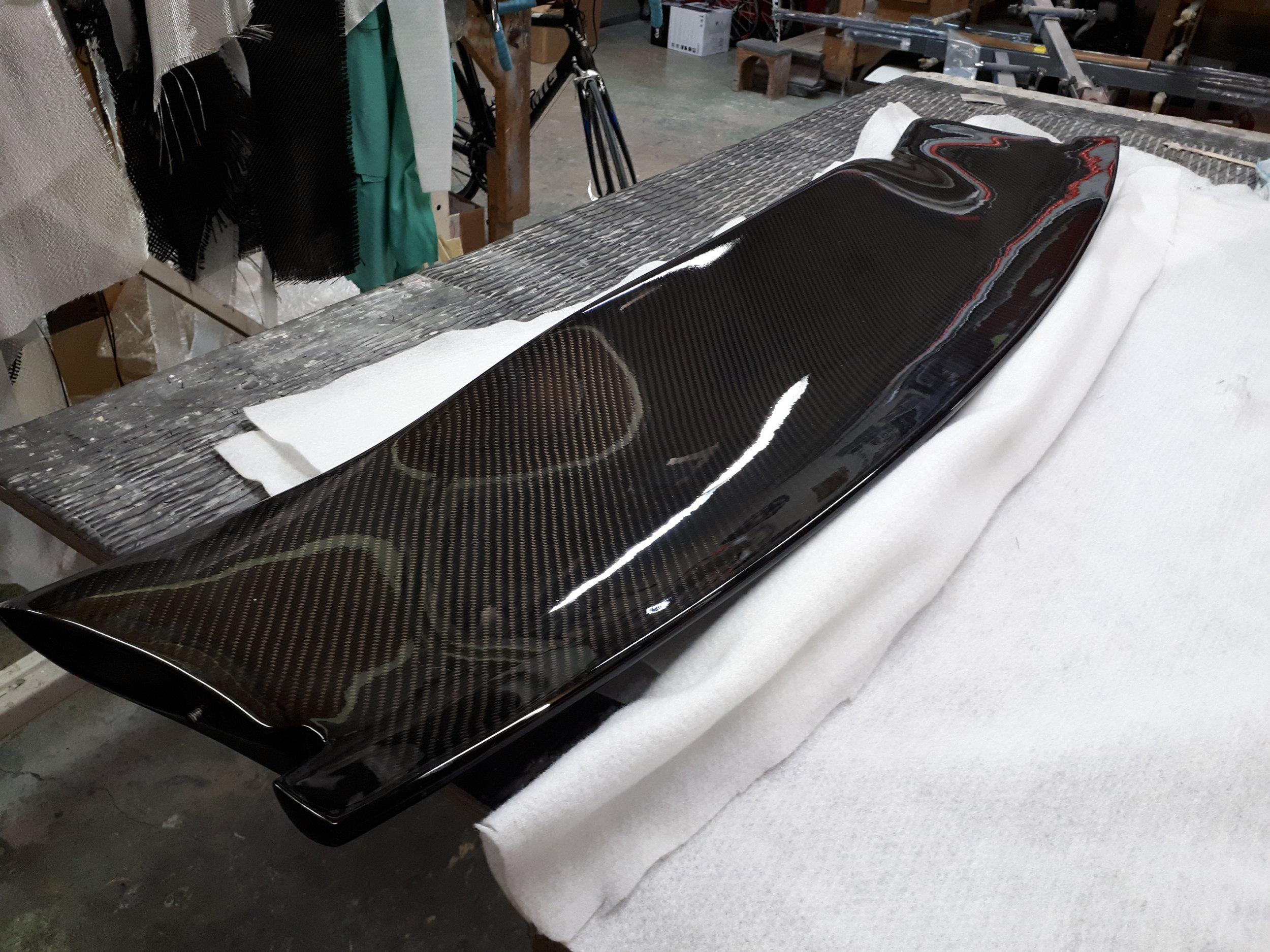 Mitsubishi Evo Spoiler Repair & Restore