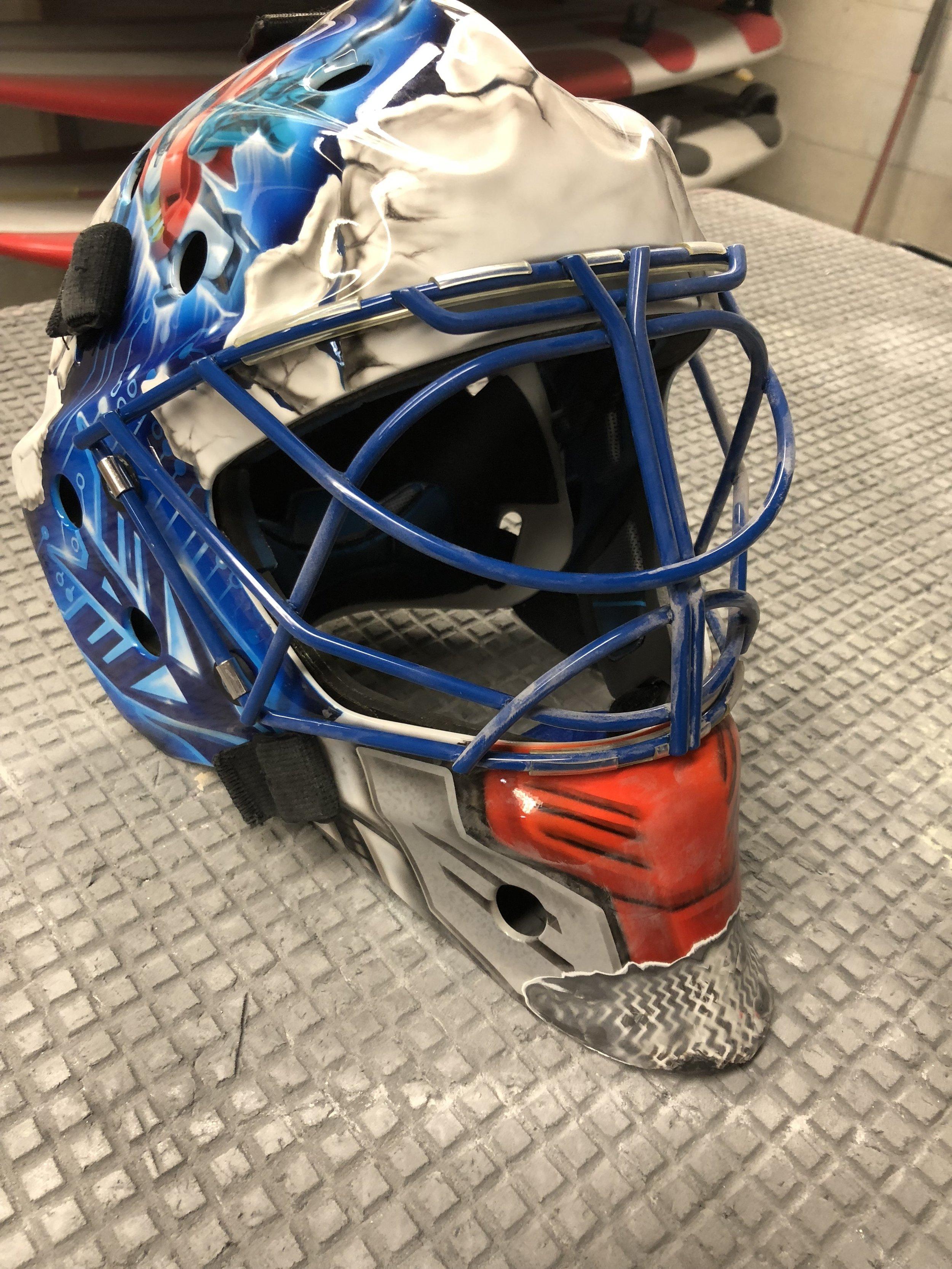 Goalie Mask Repair