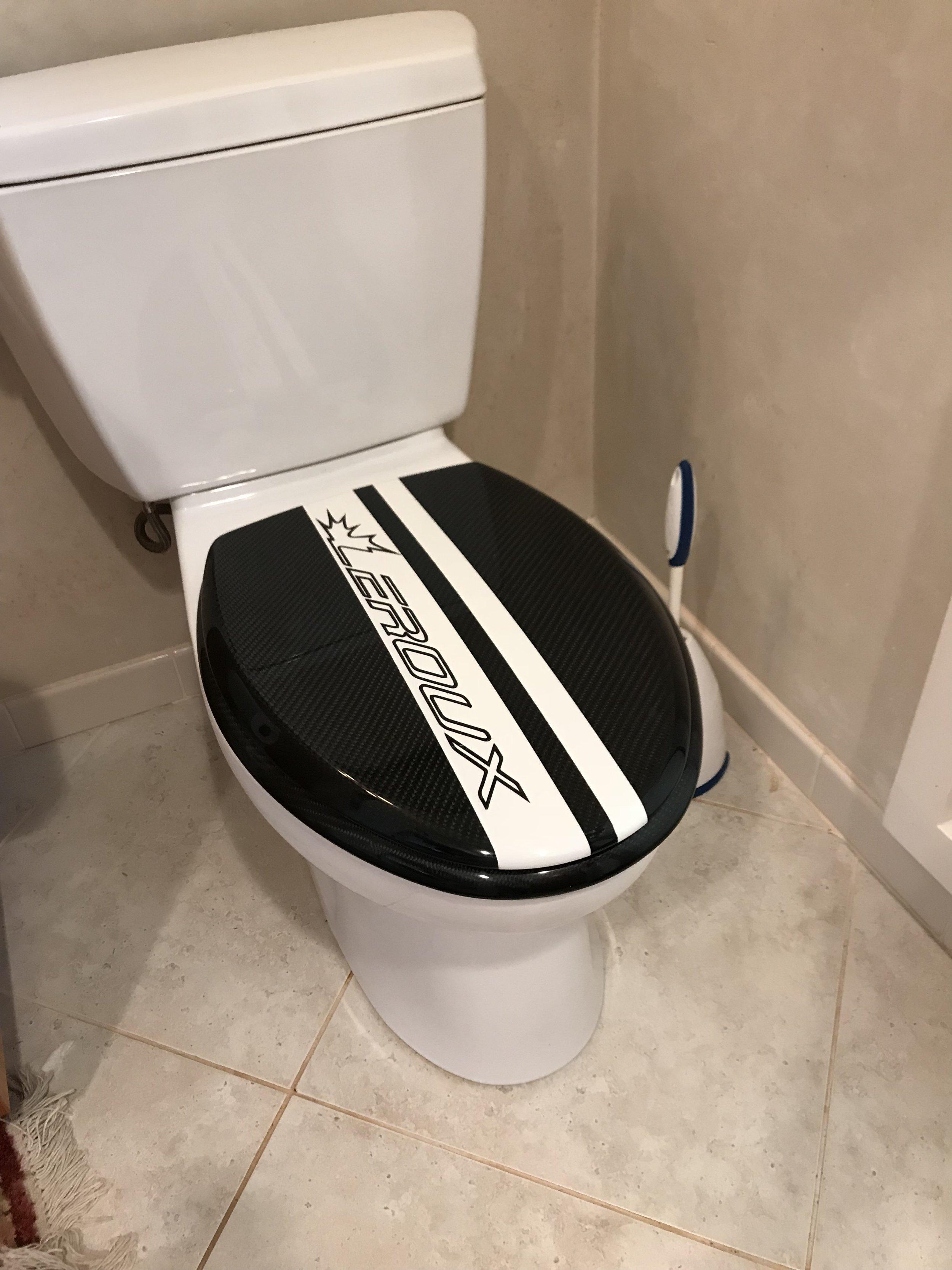 Carbon Toilet Seat!