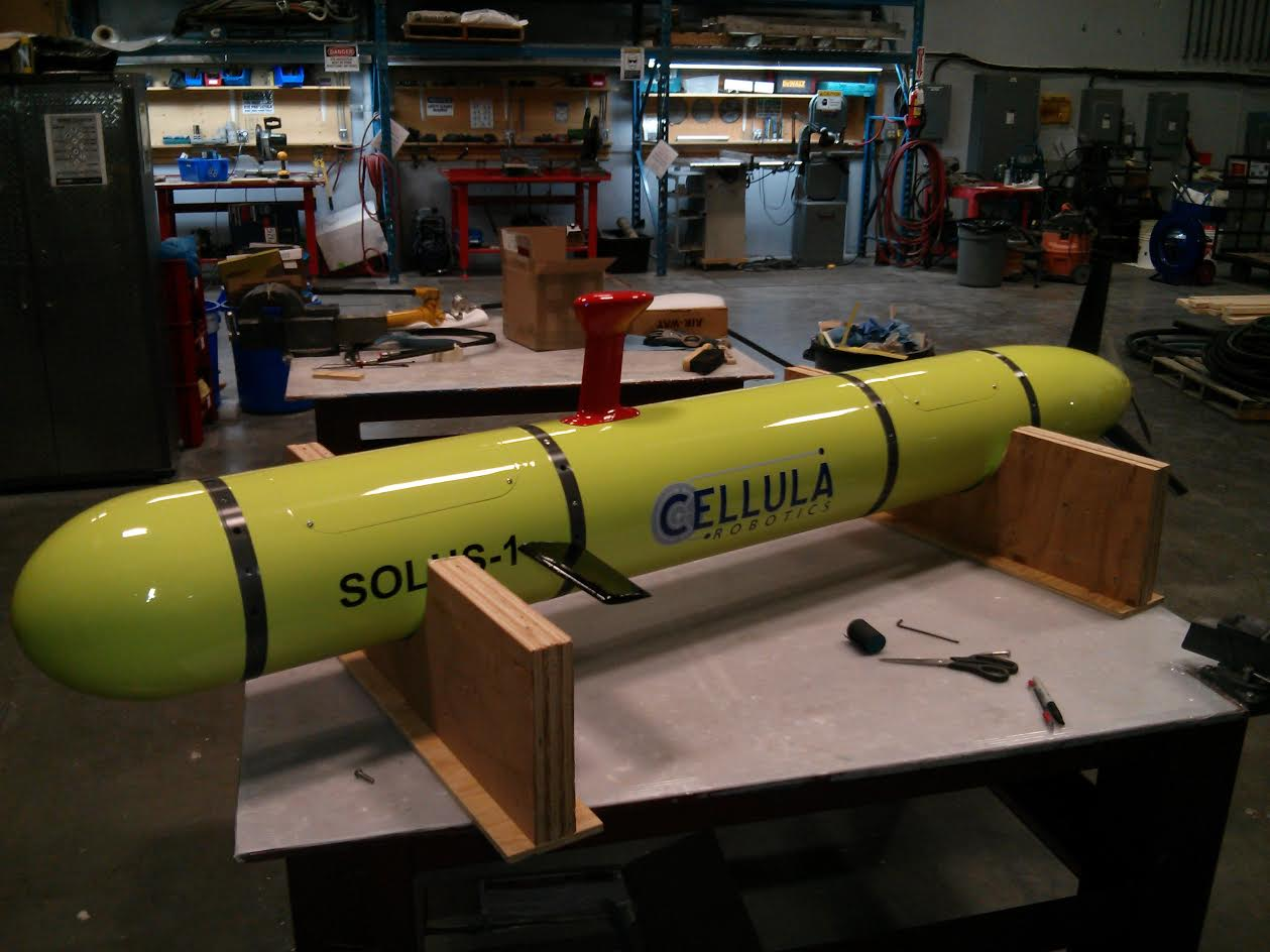 Cellula Robotics Unmanned Mapping Submarine