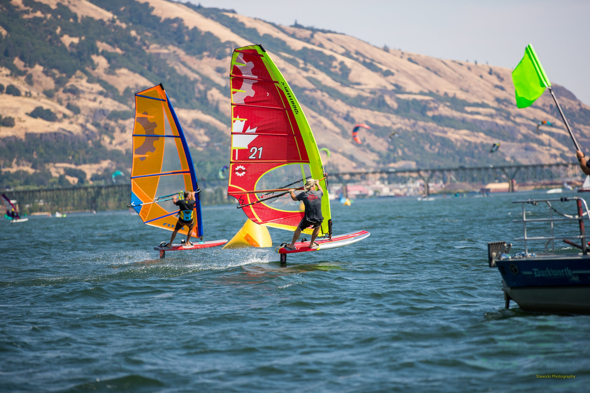 Foil - The future of windsurfing is here. Go sailing in lighter conditions than ever before.