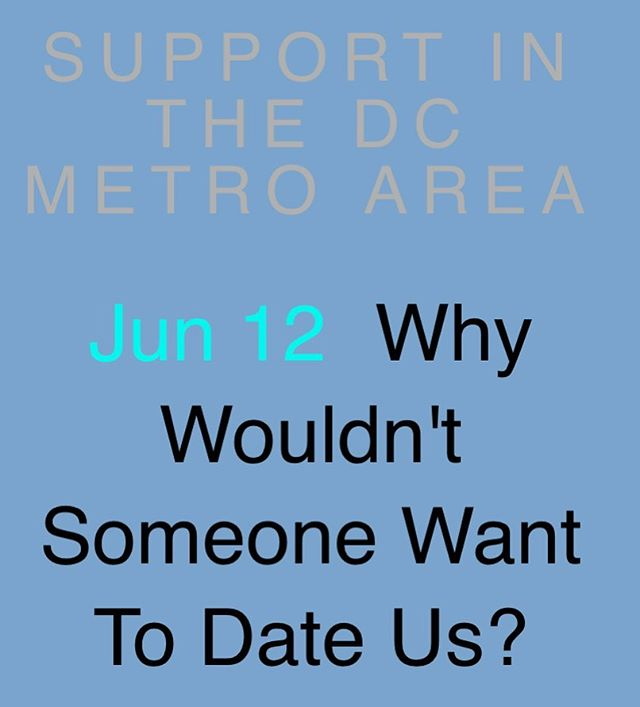 """New post alert! In my meeting one of the amazing humans says, """"why wouldn't someone want to date us?"""" That struck a cord because really why wouldn't someone want to date us. Having HSV doesn't make us less than or less deserving of love. It doesn't diminish us. . . #livingwithherpes #datingwithherpes #disclosure #imawesome #hsv #hsv1 #hsv2 #herpesawareness #endstigma #endstistigma #newpost #newpostalert #herpes #herpesdating #disclosure #supportgroup #dmv #hsvinthecity"""