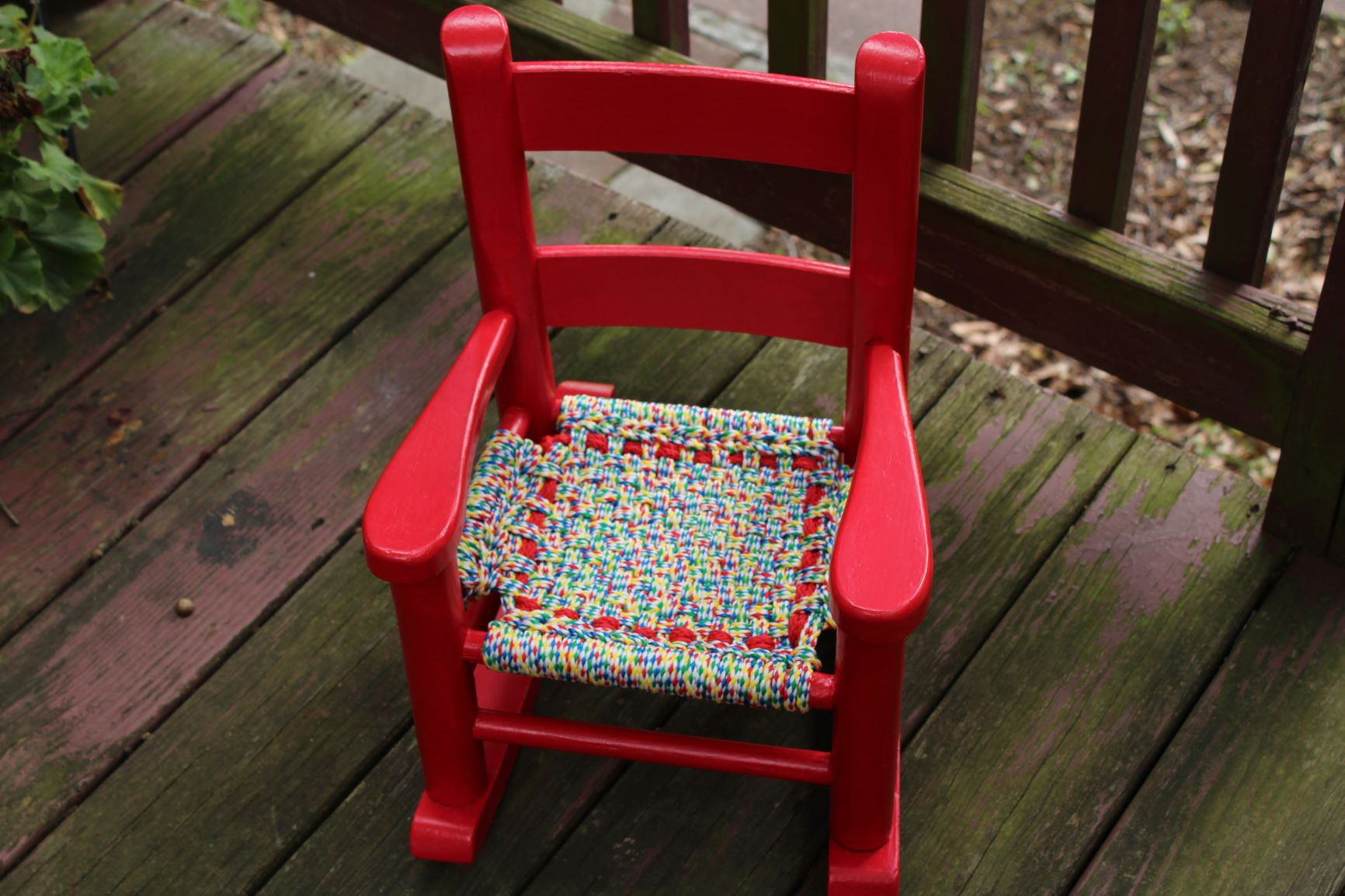 "Find out the history of ""The Little Red Chair""  HERE !"
