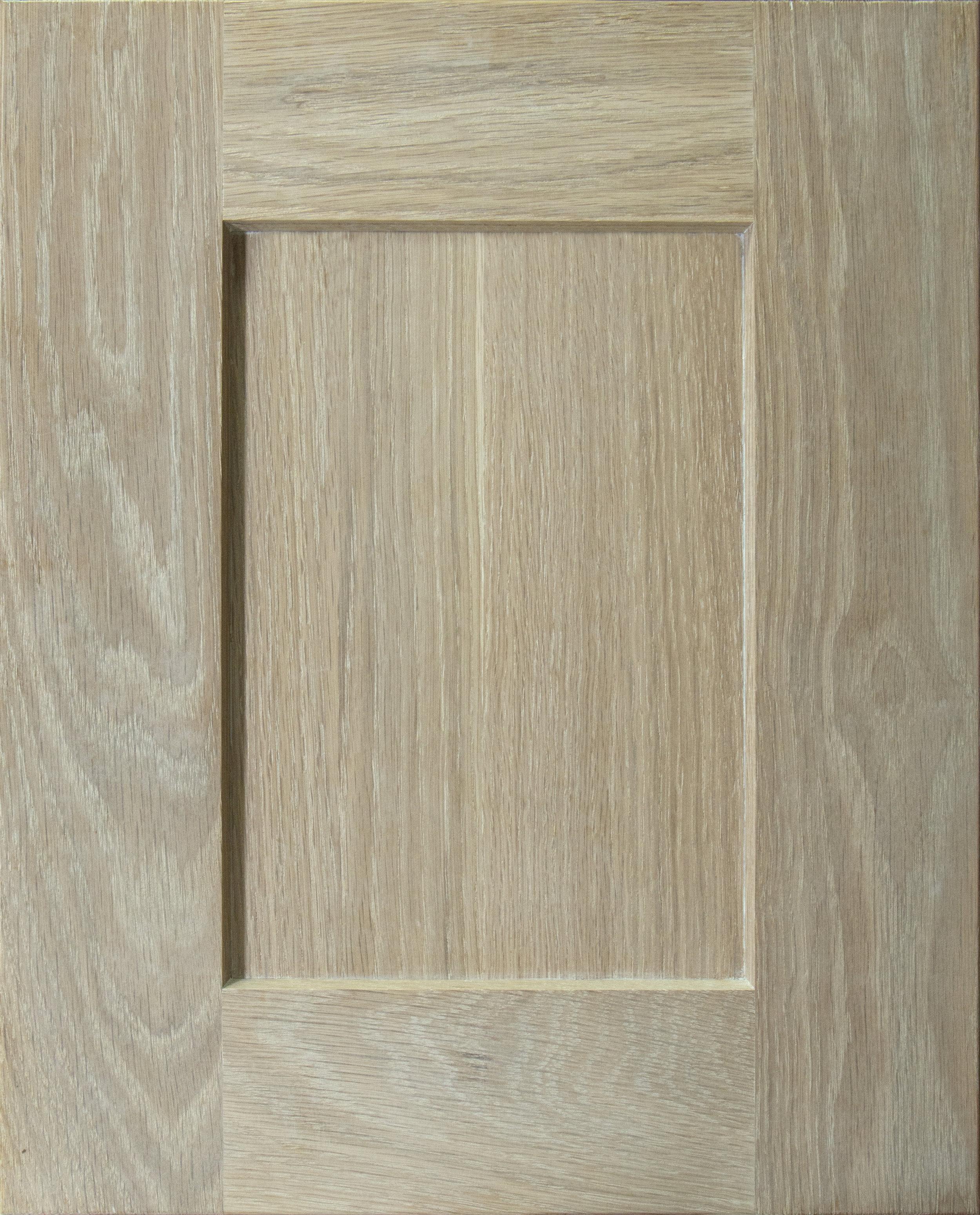 "Denali - Recessed 1/4"" Center PanelCherry | Maple | Paint | Rustic Beech | White OakShown in White Oak Sand"