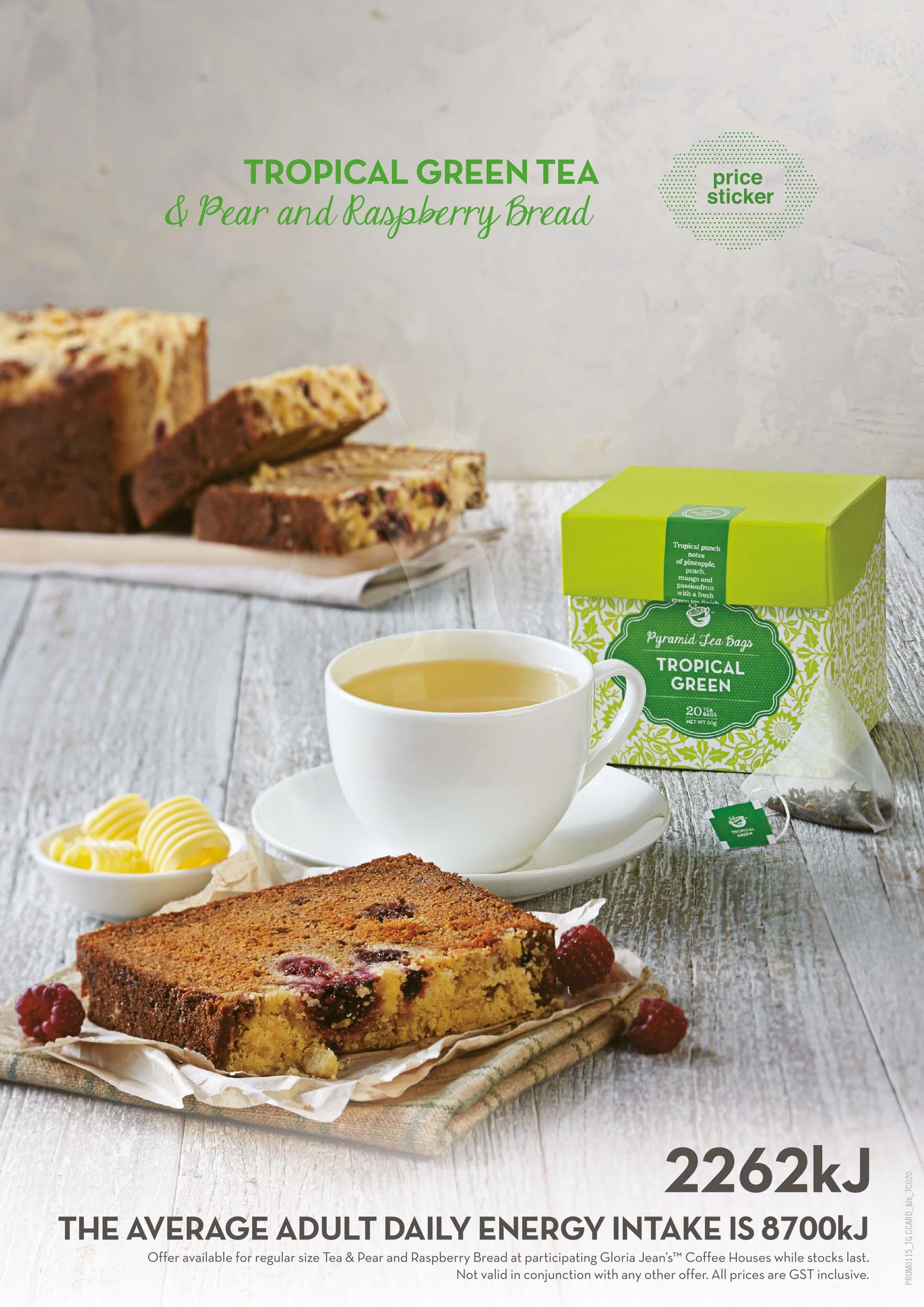 Gloria Jean's Tropical Green Tea