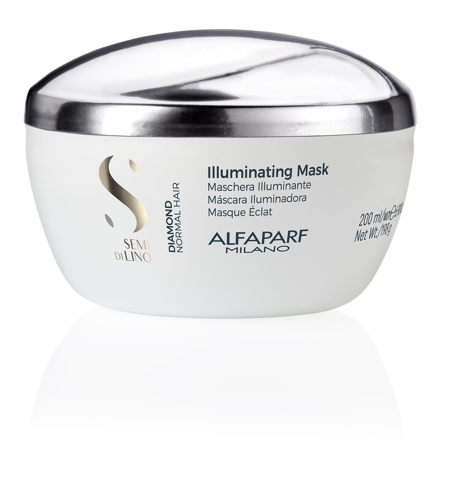ILLUMINATING MASK    DESCRIPTION   Revitalises the hair fiber Bodifying   FORMAT   Jar 200ml