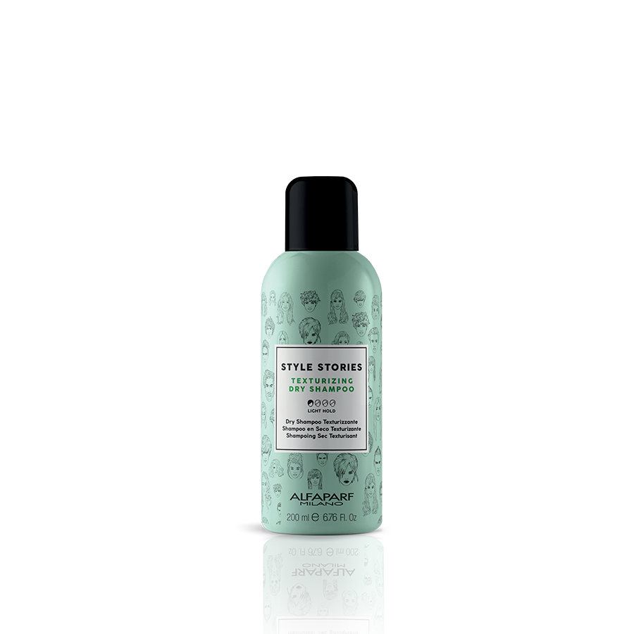 TEXTURIZING DRY SHAMPOO    DESCRIPTION   Gives instant support and absorbs excess oiliness, for lightweight and fragranced hair.   FORMAT   200 ml