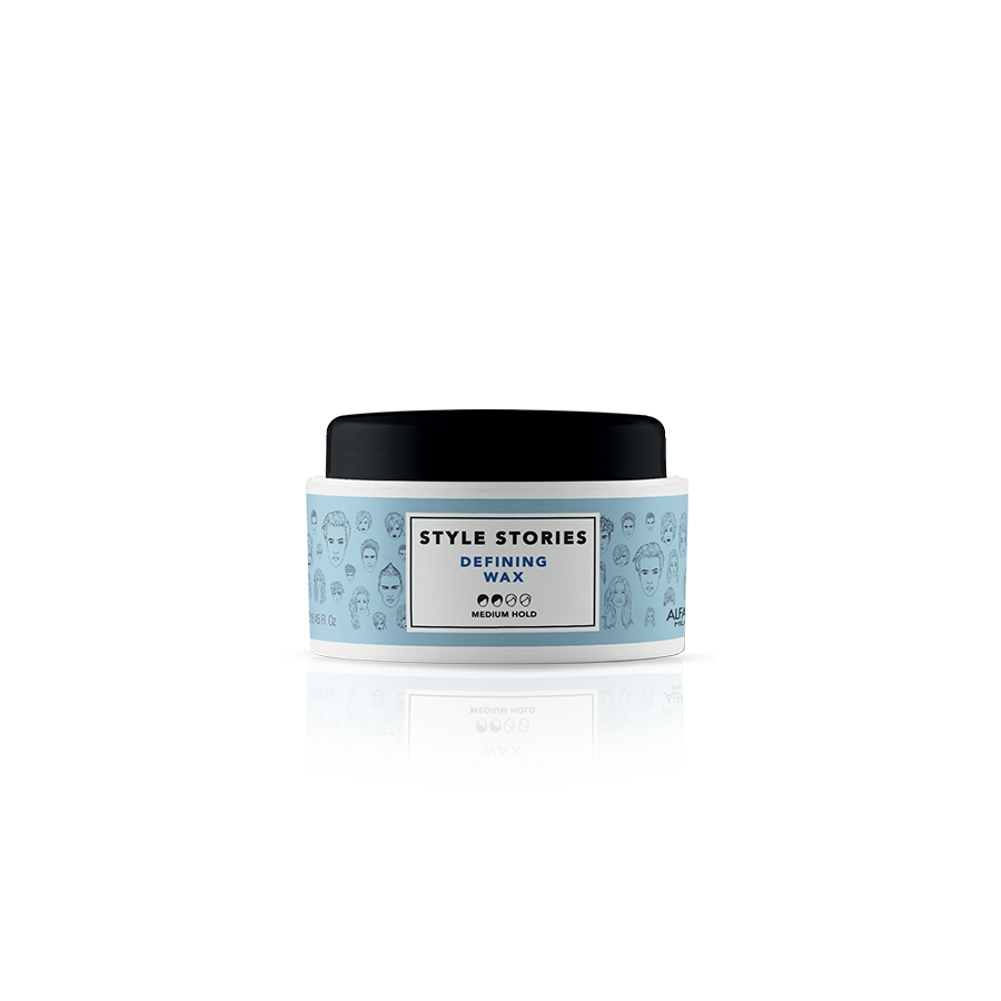 DEFINING WAX    DESCRIPTION   Soft wax, for defined results. Ideal for maximizing the details of any look. Glossy finish.  Perfect look for 8 hours!*    FORMAT   75 ml   *93% of the initial style 8 hours after application. Instrumental tests conducted at 23° C - 73° F, in conditions of controlled humidity (50%).