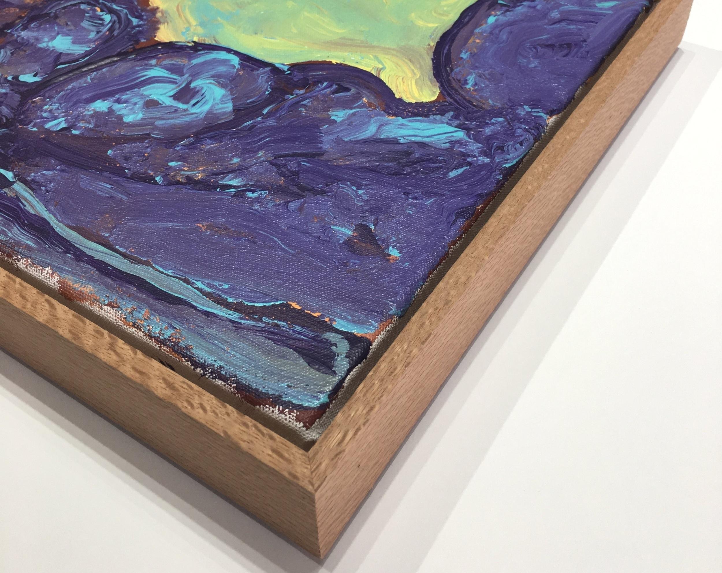 Silky Oak Float frame