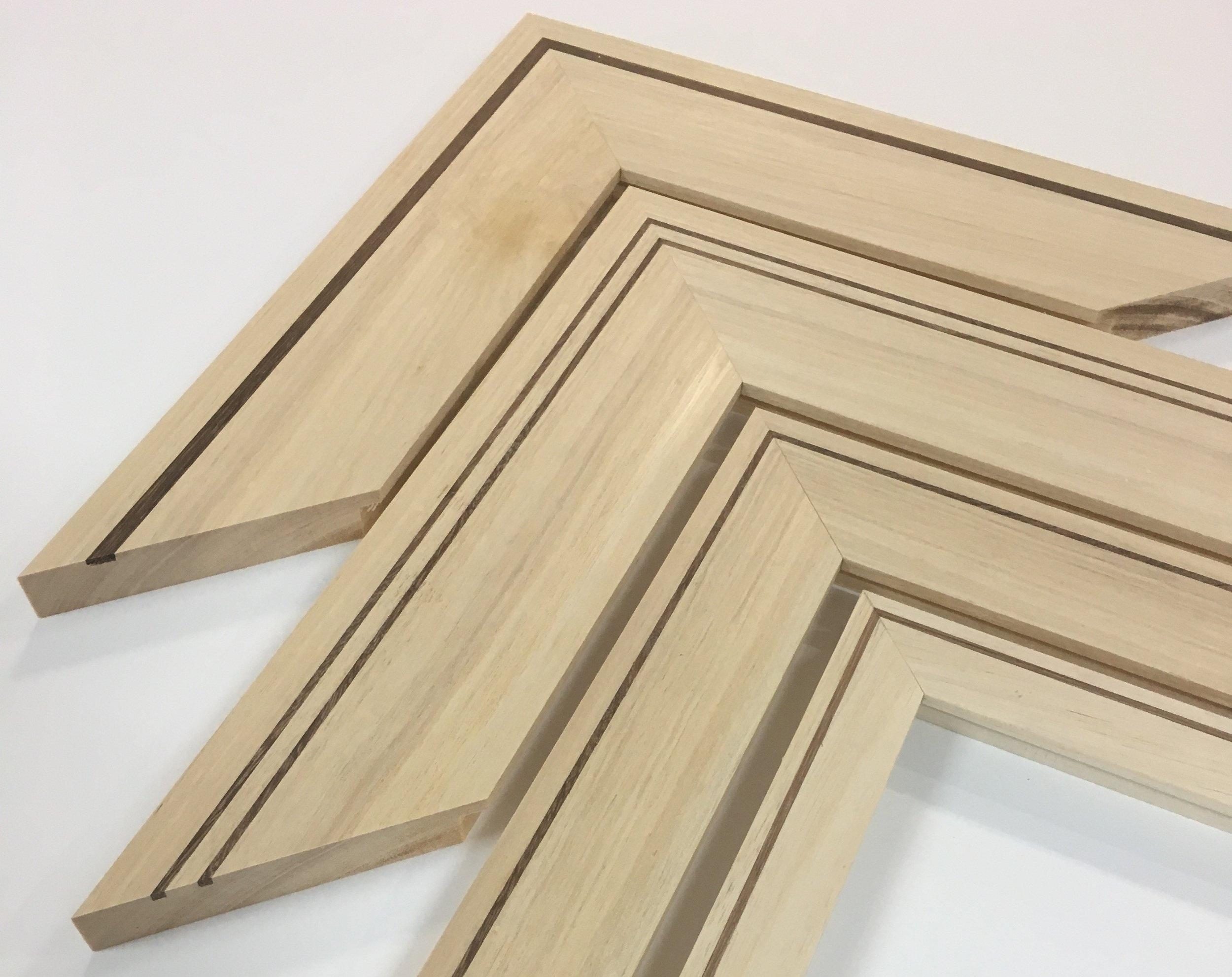 Silver ash inlay frame