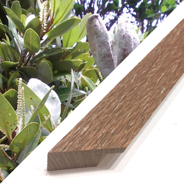 Silky Oak Timber Frame