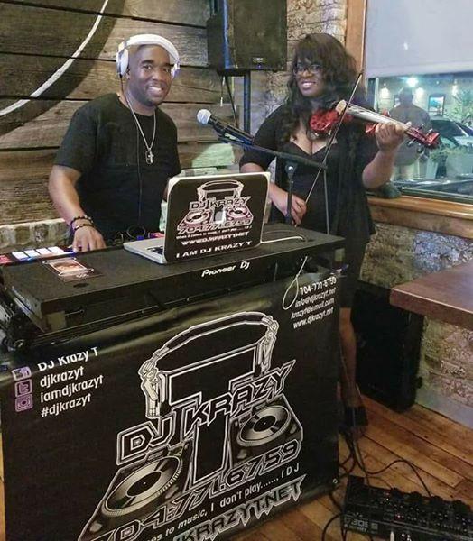 Sai The Violinist and DJ Krazy T