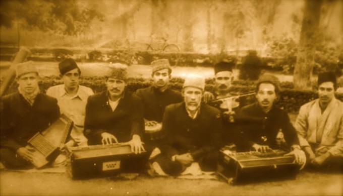 Ustad Fateh Ali Khan Mubarak Ali Khan Qawwali Party