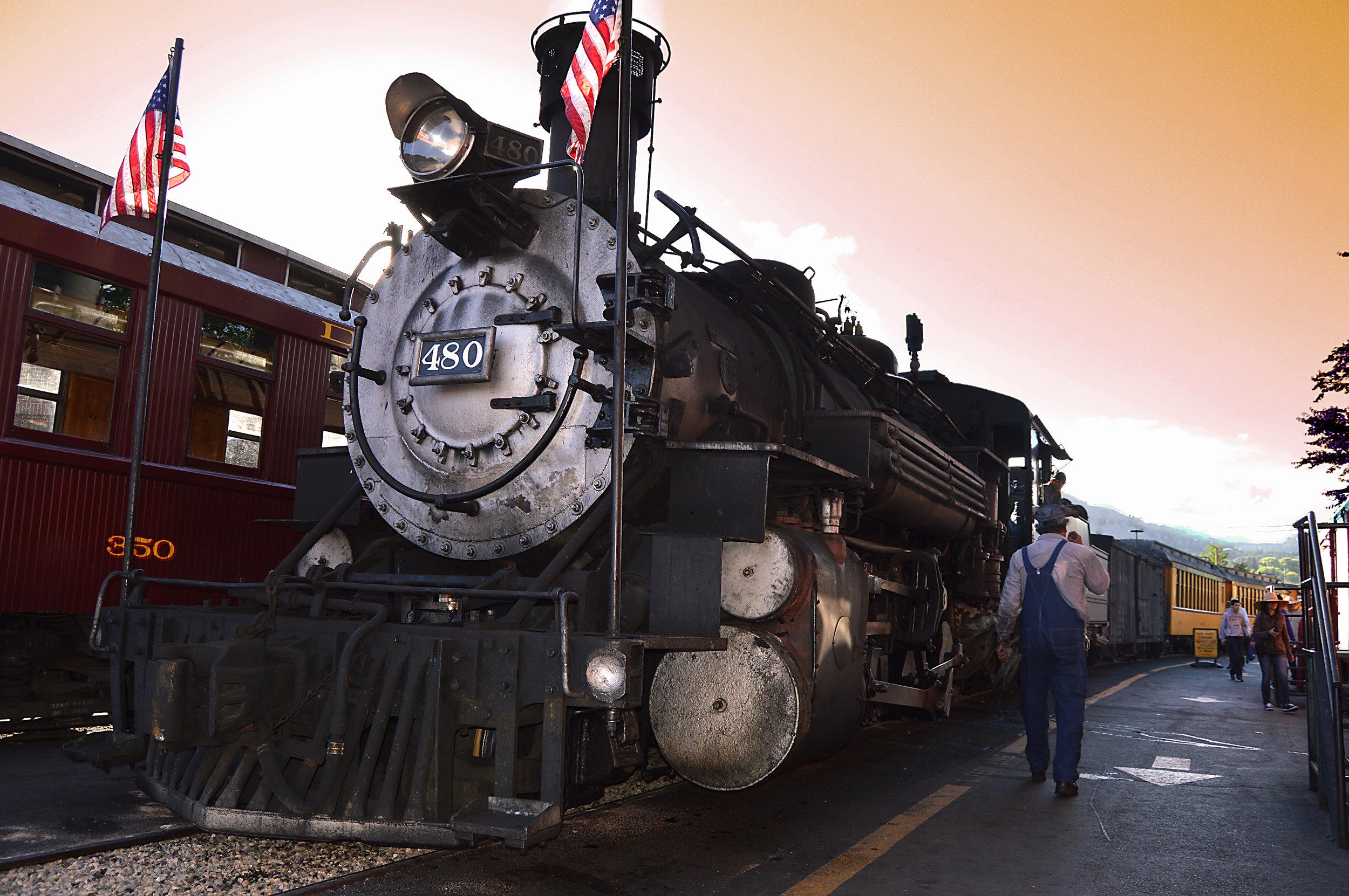 Silverton/Durango railroad
