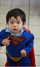 Derek as Superman