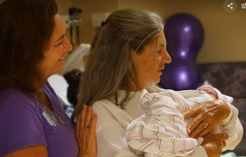 - Janis with Grandma Susan