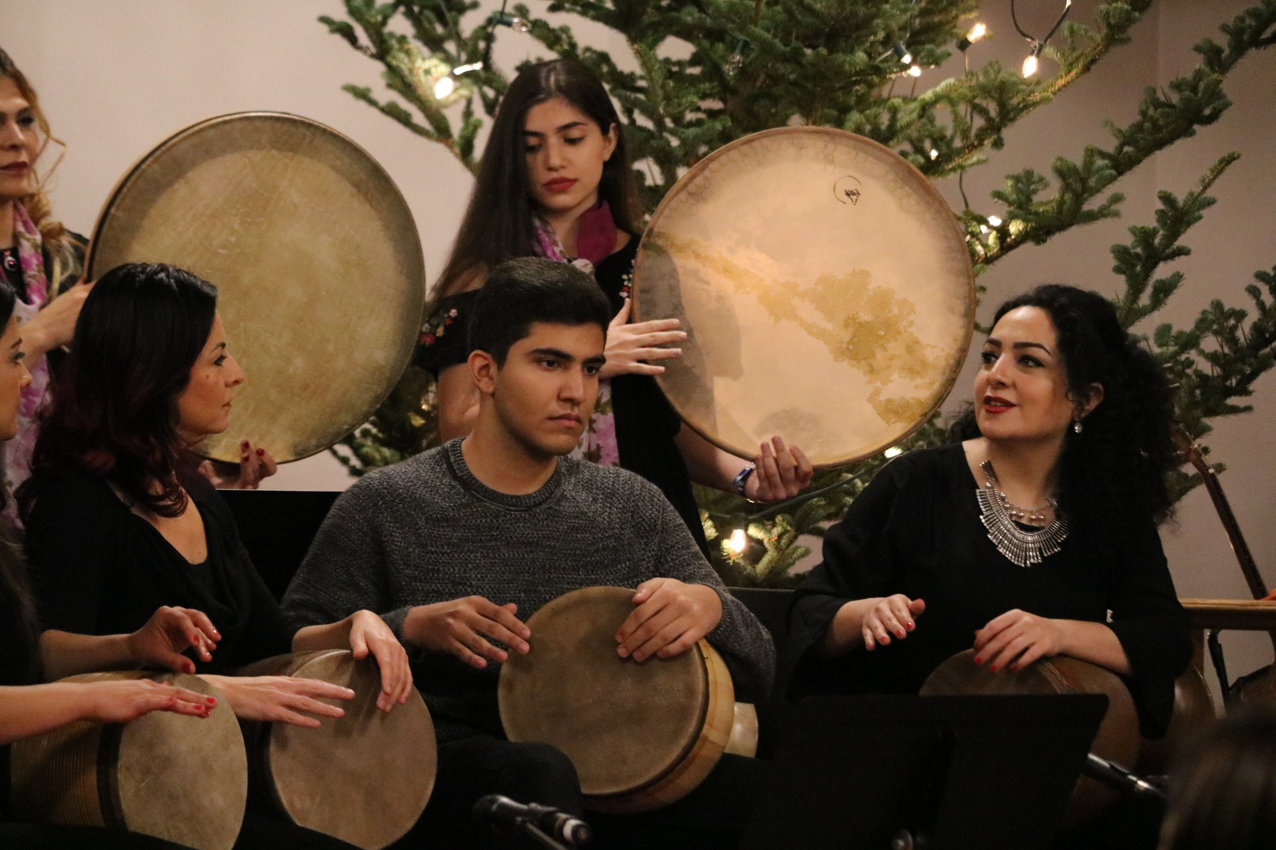 Percussion Ensemble (directed by Naghmeh Farahmand)