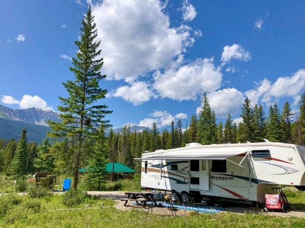 Protection Mountain Campground, Banff National Park