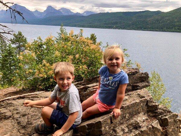 lake mcdonald glacier national park with kids.jpg