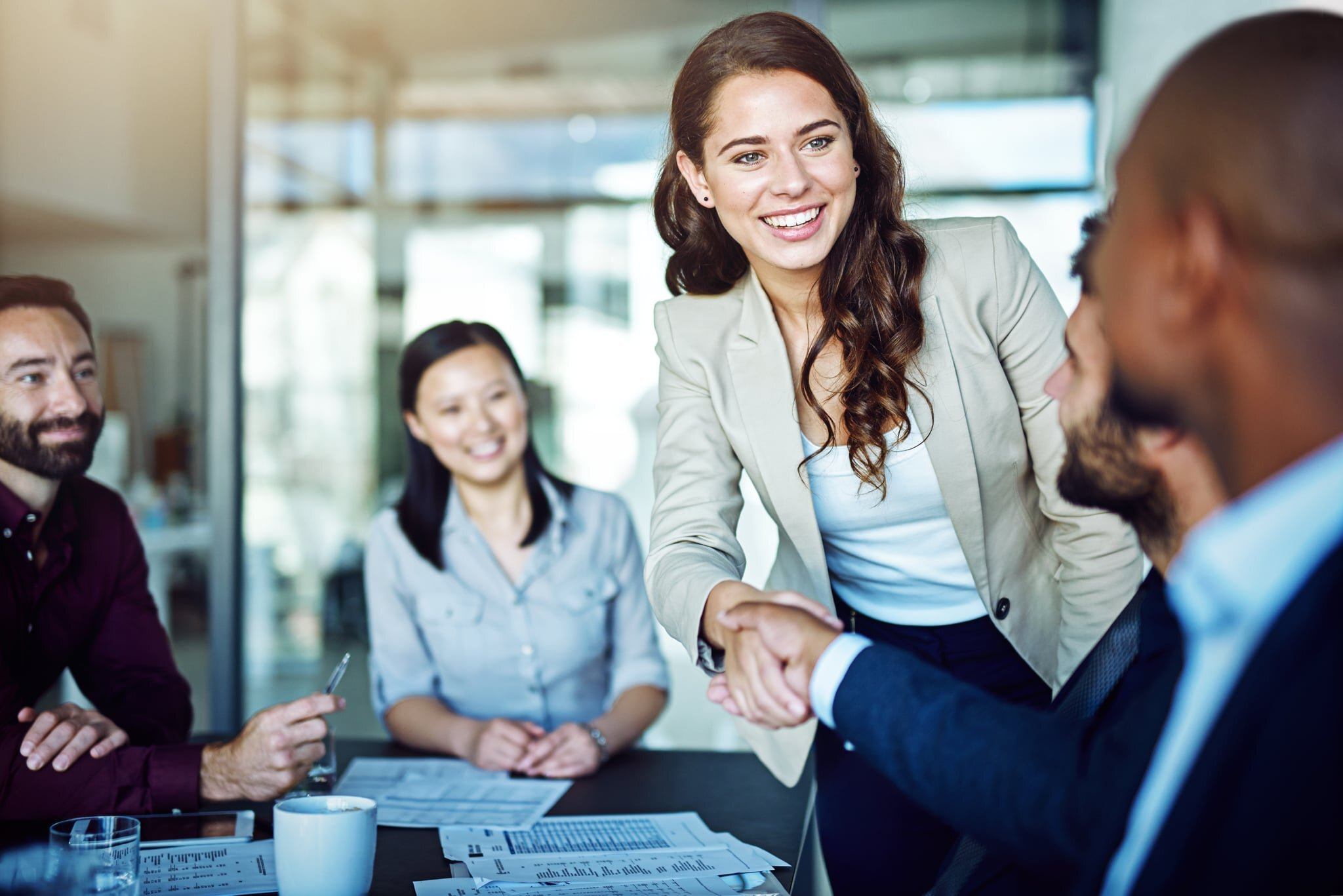 A new hire shouldn't be meeting with just one person the entire first day. -
