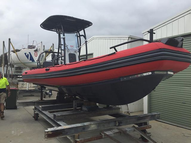 Sandringham Yacht Club has recently purchased some new RIB's which will be in use at the SYC Laser 2020 events