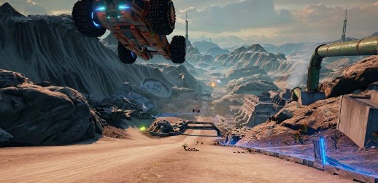 Rollcage successor Grip flips out of early access autumn