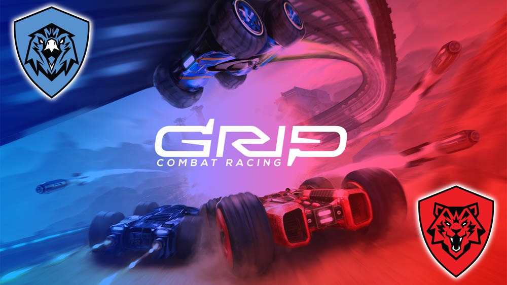 GRIP Combat Racing Game - Red vs. Blue