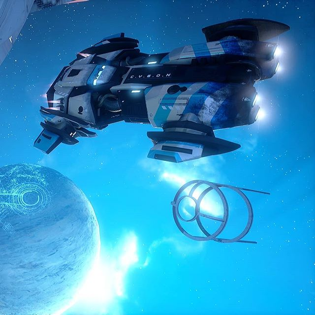 Spaced out 🌌 (Screenie by Joltout) . #GRIPCombatRacing #screenshot #space #spaceship #planet #racing #turbo #carswithoutlimits #PS4 #XboxOne #NintendoSwitch #pcgaming