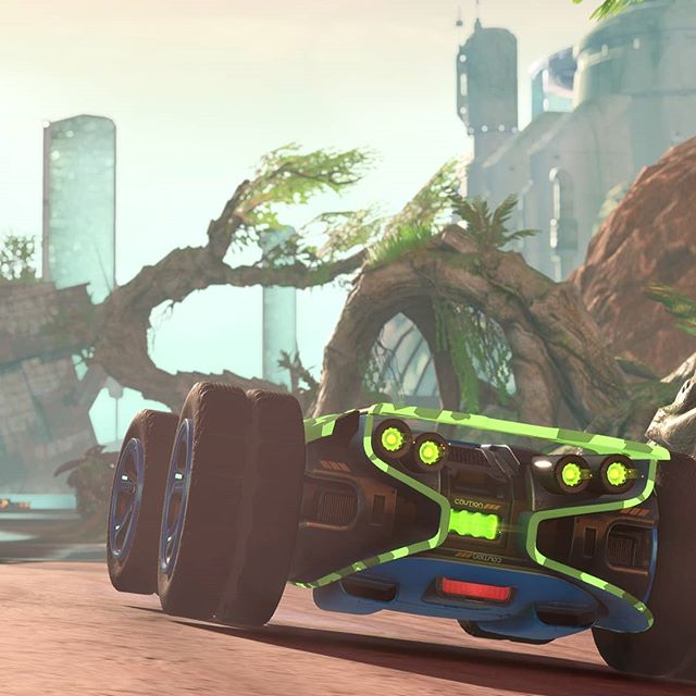 Get those #neon lights jacked up for #summertime on Liddo 5 🌡️🌴 . #GRIPCombatRacing #summer #neonlights #paintjob #heat #racing #turbo #videogame #gaming #ps4 #XboxOne #NintendoSwitch #pcgaming