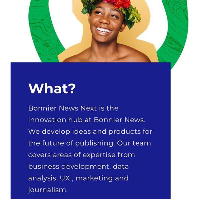 Human centered innovation fusing tech and business. Spana in vår nya hemsida som @emiliablom har designat🤙🏻