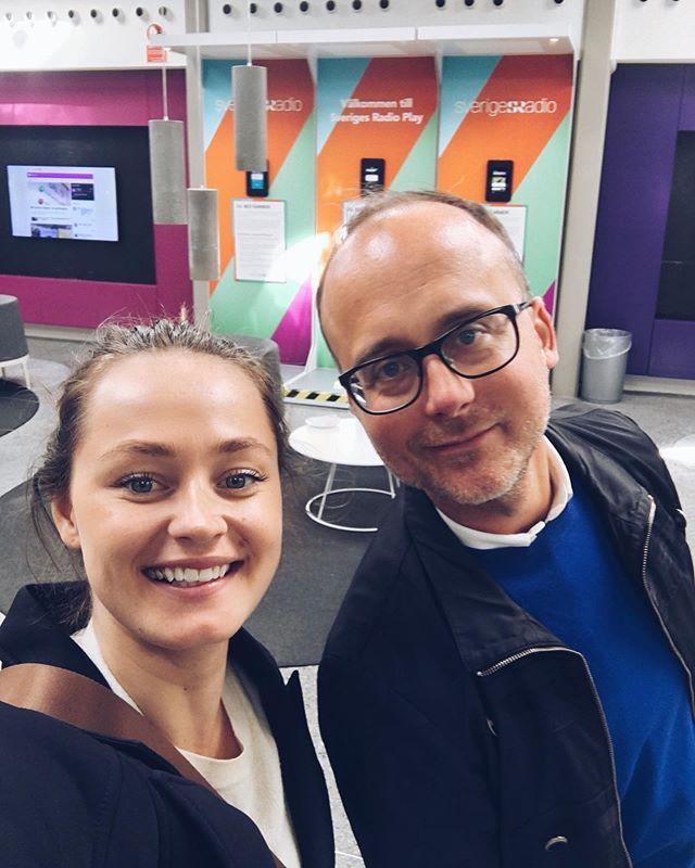 Igår besökte vi Sveriges Radio för att prata innovation och framtidens medielandskap. Väldigt spännande och lärorikt, tack för att vi fick komma förbi och hänga med er @sverigesradio @digitalainsatsstyrkan 🙌🏼