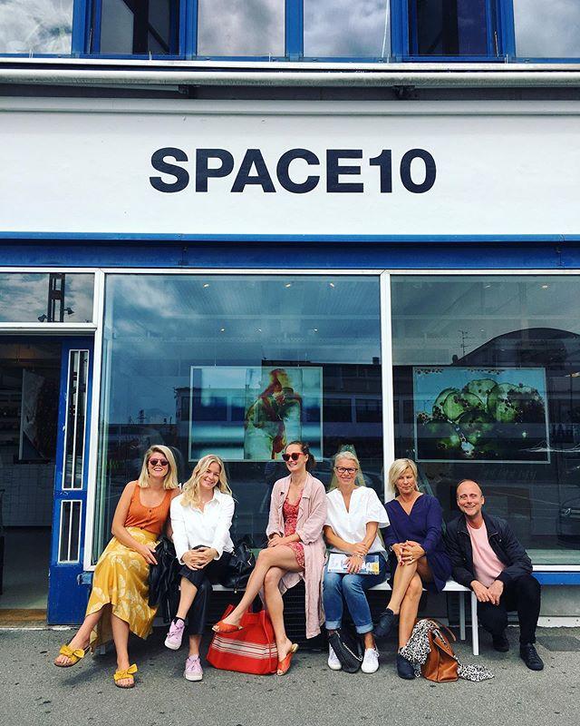 Studiebesök hos IKEAs design/innovation labb @space10_journal, sjukt spännande!🔥