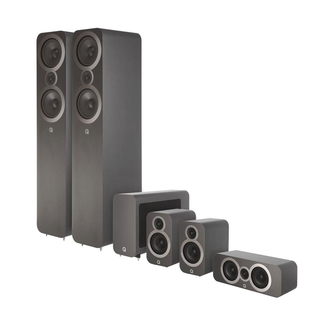 Q Acoustics 3050i 5.1 Speaker Pack