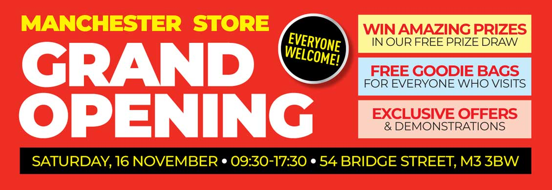 Sevenoaks Sound and Vision Manchester Grand Opening