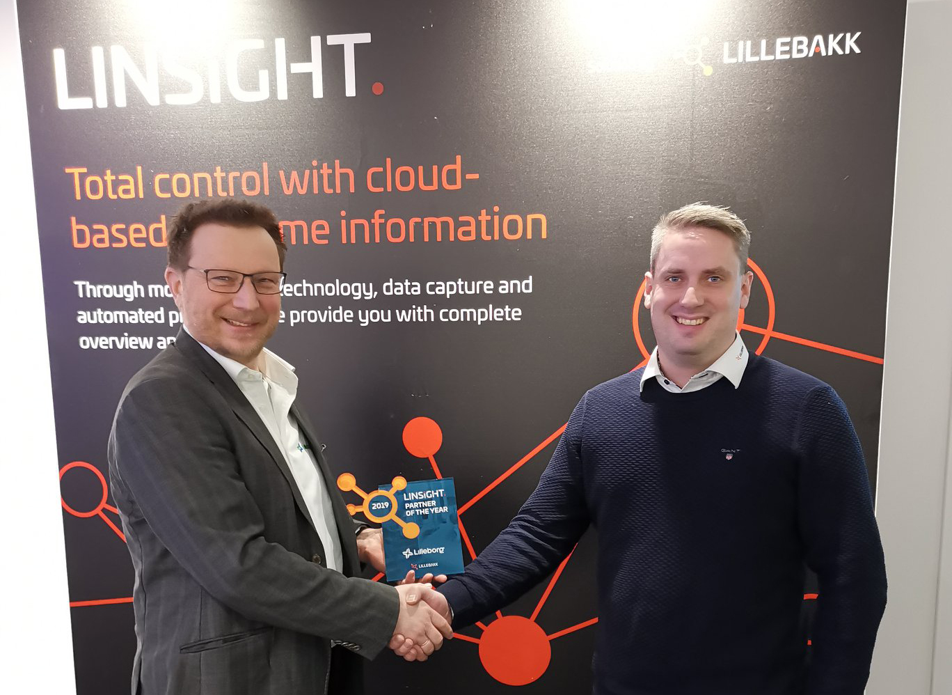 LINSiGHT -Partner of the Year 2018 - Lilleborg AS