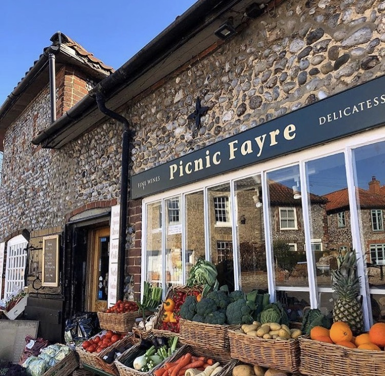 Not your average deli… - Picnic Fayre brings you a wide range of local produce mixed with a vast selection cheese's, our own brand of chuntneys, carefully selcted wines and homemade treats. Recipes that go back generations and will forever stay close to our hearts. You will leave with your taste buds tingling!