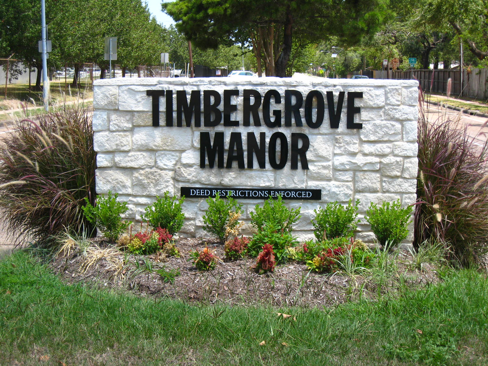 Timbergrove_Manor_sign.JPG